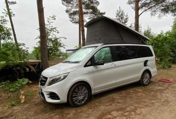 Wohnmobil mieten in Schwerin von privat |  Mercedes V Klasse Rakete