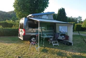Wohnmobil mieten in Alsfeld von privat | Pössl  Bluey