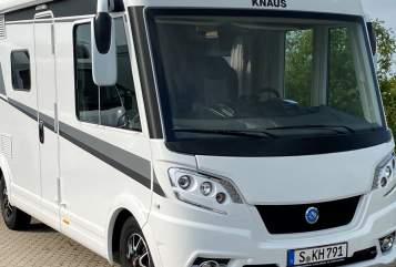 Wohnmobil mieten in Stuttgart von privat | Knaus Willi