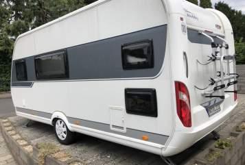 Wohnmobil mieten in Ehlscheid von privat   Hobby Hobby De luxe