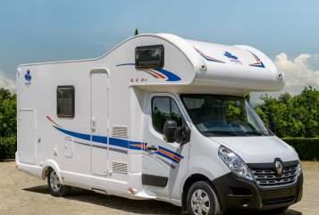 Wohnmobil mieten in Klipphausen von privat | Ahorn Camp 683 ECO mit Klima Domino m.Klima
