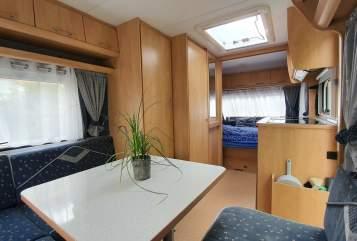 Wohnmobil mieten in Konstanz von privat | Bürstner Wanda