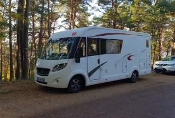 Wohnmobil mieten in Karlsruhe von privat | Eura Mobil Abenteuer Freak