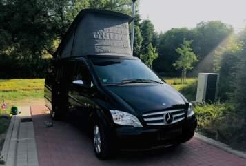 Wohnmobil mieten in Ostercappeln von privat   Mercedes Black Beauty