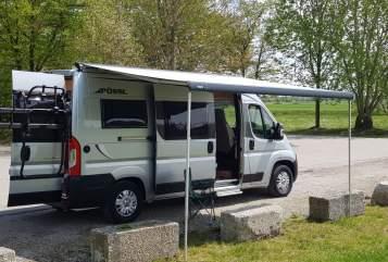 Wohnmobil mieten in Germering von privat | Pössl Glücksmobil 3