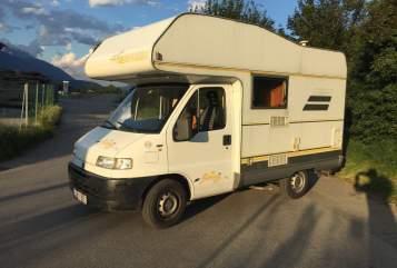 Wohnmobil mieten in Langkampfen von privat   Fiat Daisy
