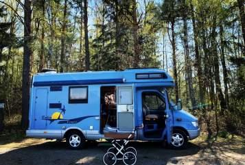 Wohnmobil mieten in Niederfrohna von privat   Mercedes Hilde