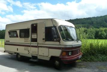 Wohnmobil mieten in Paderborn von privat | Hymer Camp 540, Mercedes Benz Bertha