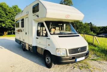 Wohnmobil mieten in Düsseldorf von privat | VW LT Due Erre