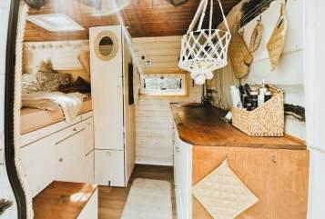 Wohnmobil mieten in Biedenkopf von privat | Fiat Ducato Campervan Manni