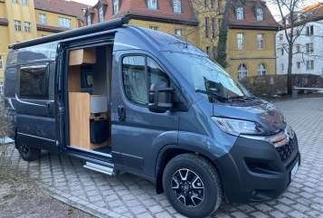 Wohnmobil mieten in Weimar von privat | Pössl Vanfred-Pössl