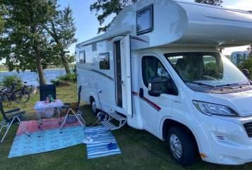Wohnmobil mieten in Dorsten von privat | Dethleffs Alkoven Wohnmobil Lutz