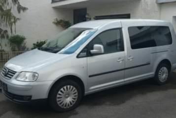 Wohnmobil mieten in Dietmannsried von privat   VW Caddy Silberschatz