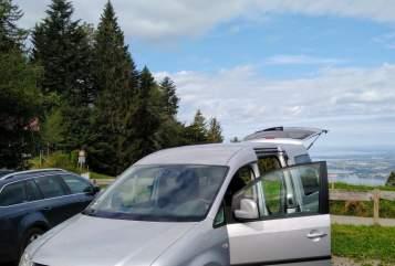 Wohnmobil mieten in Dietmannsried von privat | VW Caddy Silberschatz