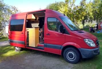 Wohnmobil mieten in Neckargemünd von privat | Mercedes Sprinter 316CDI Trude