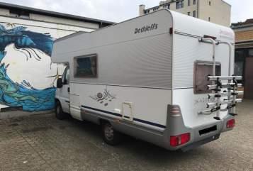 Wohnmobil mieten in Hamburg von privat   Dethleffs Max-Shorty