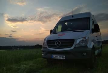 Wohnmobil mieten in Radolfzell am Bodensee von privat | Mercedes-Benz Der Putzdienst