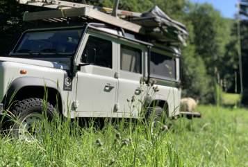Wohnmobil mieten in Hauroth von privat   Land Rover Landy-Fendy