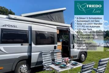 Wohnmobil mieten in Konstanz von privat | Pössl Friedo (autark)