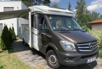 Wohnmobil mieten in Bestensee von privat | Mercedes Hymer RB REISEN MOBIL