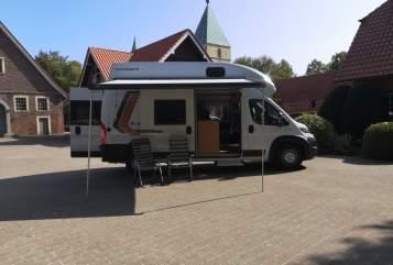 Wohnmobil mieten in Senden von privat   Weinsberg  CUV Freedom :)