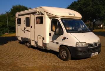 Wohnmobil mieten in Kalbe von privat | Fiat / Aufbau : Elnagh Mo´s Mobil