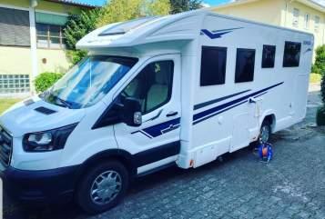 Wohnmobil mieten in Bellheim von privat | Ford Rimor Suedpfalzcamper