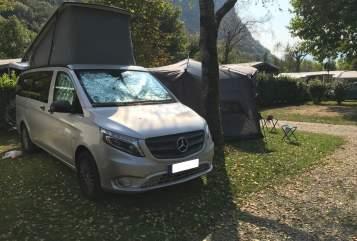 Wohnmobil mieten in Stuttgart von privat   Mercedes Marco Polo Schaluppe