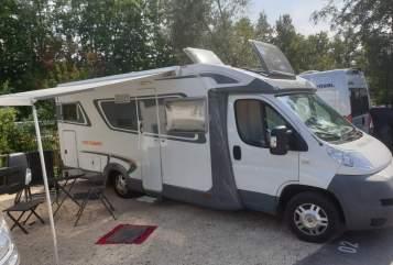 Wohnmobil mieten in Roth von privat | Fiat Weißes