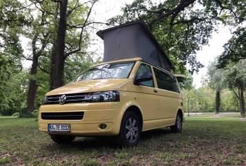 Wohnmobil mieten in Karlsruhe von privat | VW T5 KATE