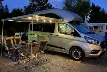 Wohnmobil mieten in Gundelfingen von privat | Ford Nugget Willi Kämper