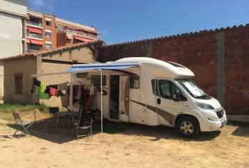 Wohnmobil mieten in Flammersfeld von privat | Fiat Eura Mobil