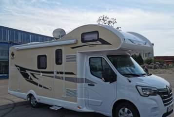 Wohnmobil mieten in Satteldorf von privat   Ahorn Charly 165 PS