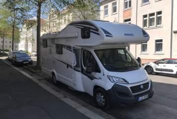 Wohnmobil mieten in Zwickau von privat | Knaus Coyote