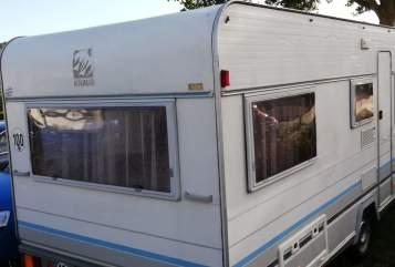 Wohnmobil mieten in Homberg von privat | Knaus Knausi
