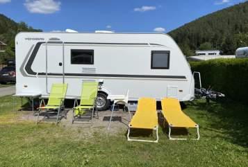 Wohnmobil mieten in Reichertshofen von privat   Knaus Tabbert Teddy Klima