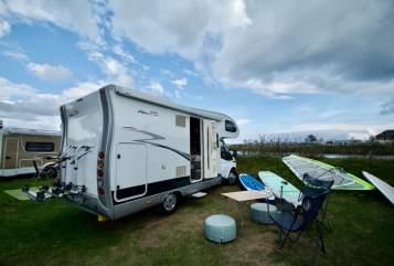 Wohnmobil mieten in Wunstorf von privat | Ford Hobby Siesta 600   Beluga
