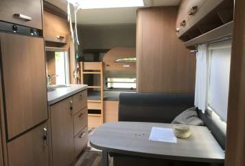 Wohnmobil mieten in Monheim am Rhein von privat | Knaus Rosi