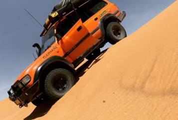 Wohnmobil mieten in Nieuwegein von privat | Toyota Orange Cruiser