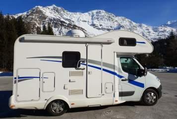 Wohnmobil mieten in Hirzenhain von privat | Renault Schnuffine