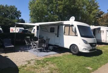 Wohnmobil mieten in Wiernsheim von privat | Hymer  Cosa Mia Hymer