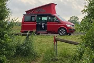 Wohnmobil mieten in Tübingen von privat | VW Red Bulli