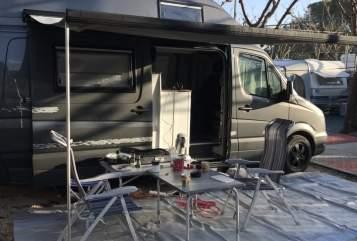 Wohnmobil mieten in Westerburg von privat | Mercedes Sprinter  Elvira