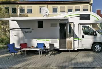 Wohnmobil mieten in Dachau von privat | Forster  Forster 734 VB