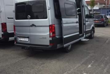 Wohnmobil mieten in Schagerbrug von privat | Volkswagen Crafter Grand Californi