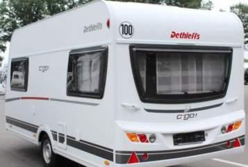 Wohnmobil mieten in Heddesheim von privat   Dethleffs Kuschel Go