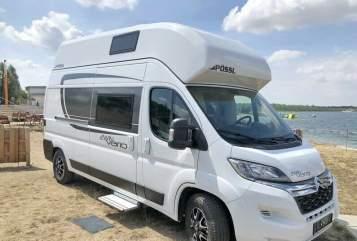 Wohnmobil mieten in Bötersen von privat   Pössl 2WIN Vario XL