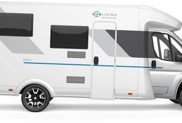 Wohnmobil mieten in Bötersen von privat   SunLiving Living S70 SL