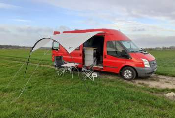 Wohnmobil mieten in Cremlingen von privat | Ford Transit MK6 Red PI