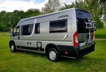 Wohnmobil mieten in Beckum von privat   Pössl Free Cruiser